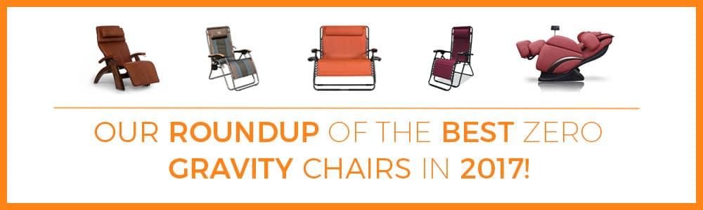 Best Zero Gravity Chair Roundup 2017 banner