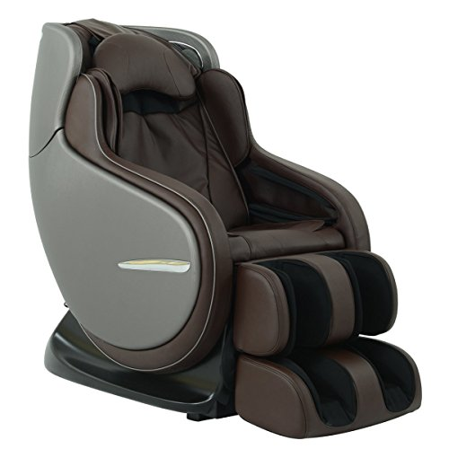 Best Brand Chairs: Kahuna Chair Mountain Brown 3D Zero Gravity Massage Chair