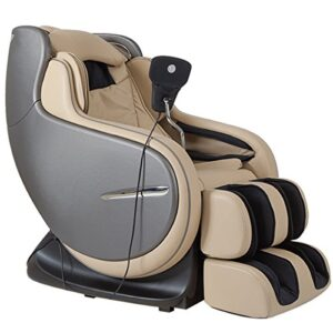 Kahuna Chair Ivory Cream 3D Zero Gravity massage chair