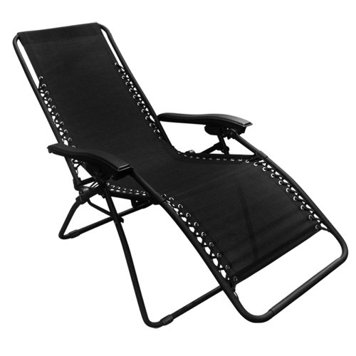 Best Choice Products Zero Gravity Chair Set Of 2 Black