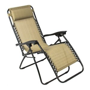 Best Choice Products Zero Gravity Chair Tan