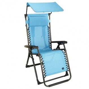 bliss hammocks turquoise gravity free recliner with canopy  rh   myzerogravitychair
