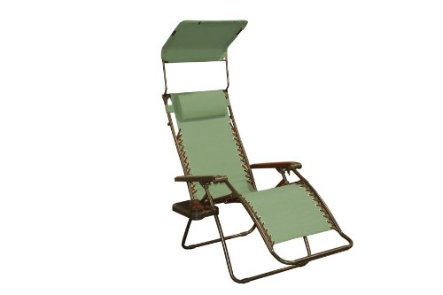 Bliss Hammocks Gravity Free Recliner Chair Sage Green