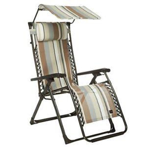 Patterned Zero Gravity Chairs