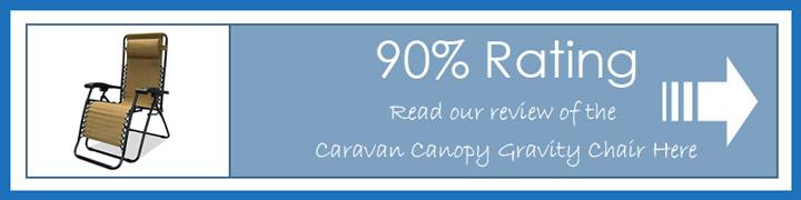 Read our Caravan Canopy zero gravity Chair review