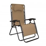 Caravan Canopy Oversized Beige Zero Gravity Chair