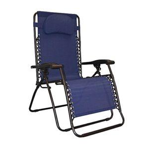 Caravan Canopy Oversized Blue Zero Gravity Chair