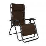 Caravan Canopy Oversized Brown Zero Gravity Chair