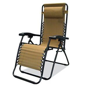 Caravan Canopy Sports Infinity Beige Zero Gravity Chair