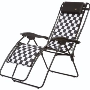 Faulkner Malibu Style Checkered X-Large Zero G Recliner