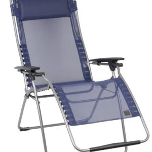 Lafuma Futura XL Zero Gravity Chair - Blue Iso Batyline Fabric