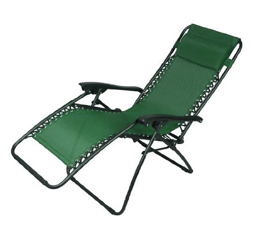Outsunny Zero Gravity Recliner Lounge Chair Green