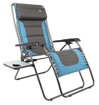 Westfield Outdoor Blue Xl Zero Gravity Chair