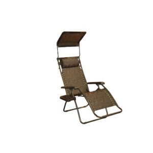 Bliss Hammocks Gravity Free Recliner Chair Cocoa Brown