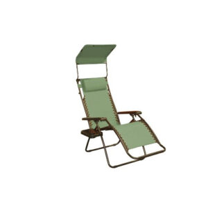 Bliss Hammocks Gravity Free Recliner Chair Sage Green