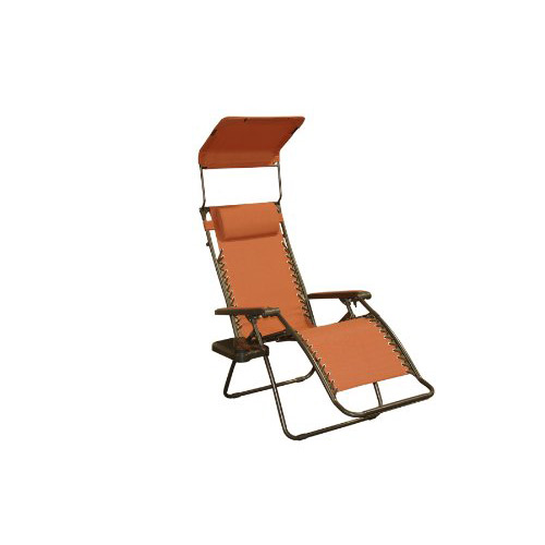 Bliss Hammocks Gravity Free Recliner Chair Terra Cotta