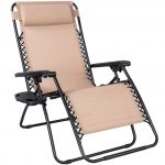 Sundale Outdoor Oversized zero gravity recliner