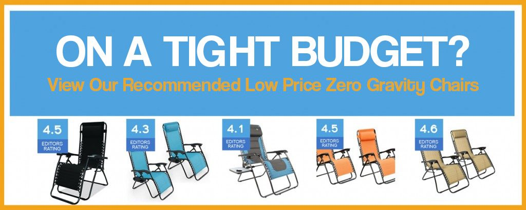 low priced zero gravity chairs