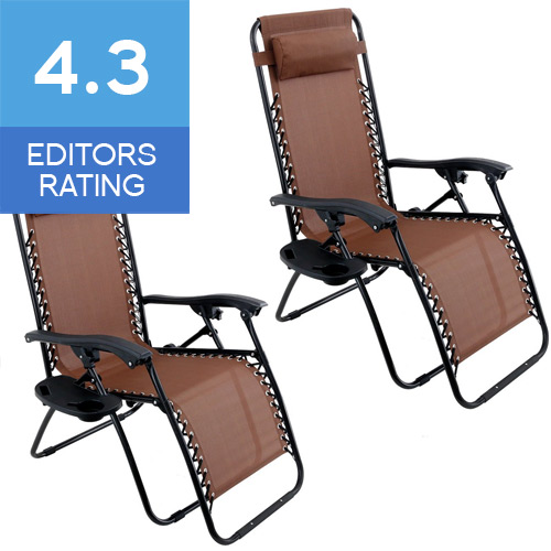 Zero gravity patio chairs review chairs seating for Chair zero review