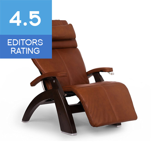 Human Touch Perfect Chair PC-420 Classic Plus Zero Gravity Recliner Cognac