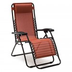 Caravan Canopy Sports Infinity Terracotta Zero Gravity Chair