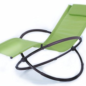 BELLEZZA Folding Orbital Zero Gravity Lounge Chair - Green
