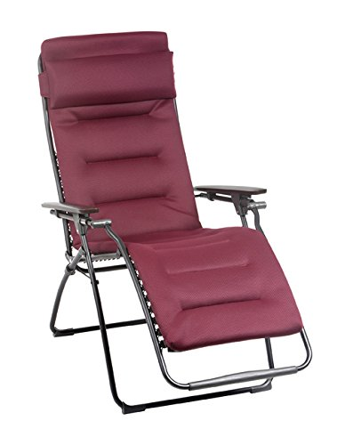 Lafuma Futura Air Comfort Zero Gravity Recliner Black