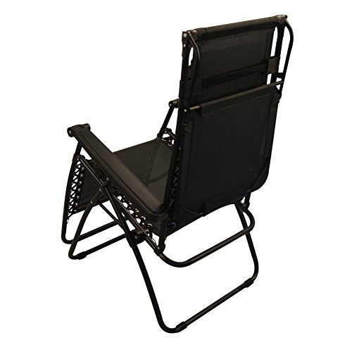 Sundale Outdoor Zero Gravity Chair with Canopy Black OUR RATING 4 6 out of