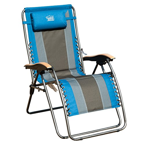 timber ridge oversized xl padded zero gravity chair - Zero Gravity Lounge Chair