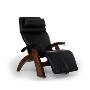 Human Touch Perfect Chair PC-420 Classic Plus Premium Full Grain Leather Zero Gravity Recliner, Black