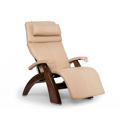 Beau Human Touch Perfect Chair PC 420 Classic Plus Premium Full Grain Leather Zero  Gravity Recliner, Ivory