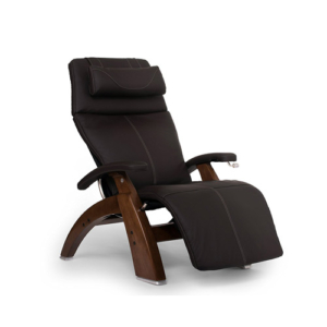 Human Touch Perfect Chair PC-420 Classic Plus Top Grain Leather Zero Gravity Recliner, Espresso