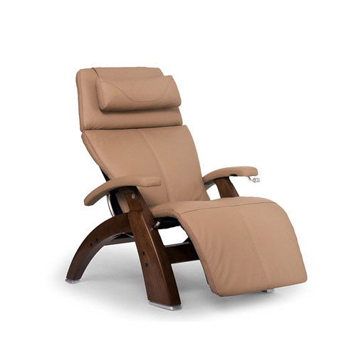 Merveilleux Human Touch Perfect Chair PC 420 Classic Plus Top Grain Leather Zero Gravity  Recliner, Sand