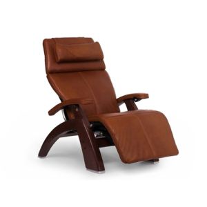 "Perfect Chair ""PC-610 Omni-Motion Classic"" Premium Full Grain Leather Zero Gravity Recliner, Cognac"