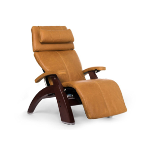 "Perfect Chair ""PC-610 Omni-Motion Classic"" Premium Full Grain Leather Zero Gravity Recliner, Sycamore"