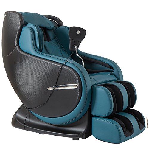 Kahuna Chair Peacock Blue 3D Zero Gravity massage chair