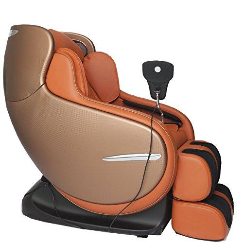 Kahuna Chair Orange 3D Zero Gravity massage chair