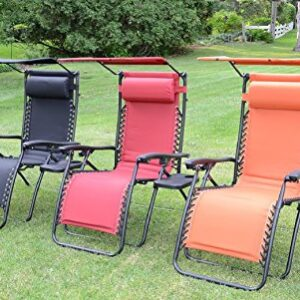 Padded Zero Gravity Chairs For The Outdoors Xl And