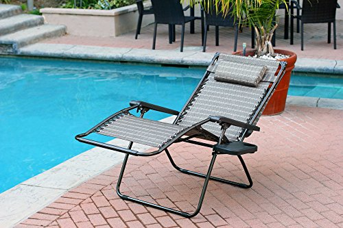 Oversized-Zero-Gravity-Chair-with-Sunshade-and-Drink-Tray-Black-and-Tan-0-2