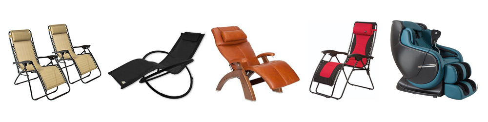 Types of zero gravity chairs