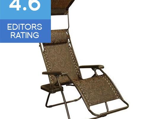 Bliss Hammocks anti gravity recliner chair with sun canopy