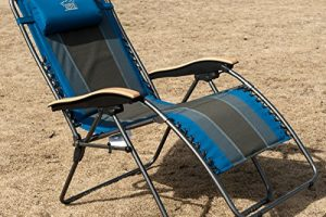 Timber Ridge Oversized XL Padded Zero Gravity Chair