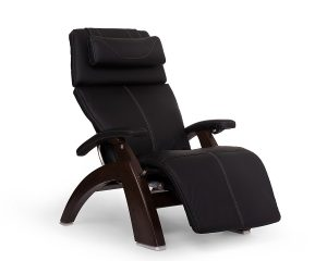 Perfect Chair PC-610 Omni-Motion Classic Zero Gravity Recliner, Dark Walnut Base