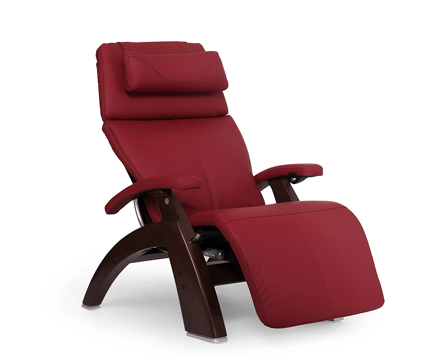 Human Touch Perfect Chair PC-610 Omni-Motion Classic Zero Gravity Recliner Red