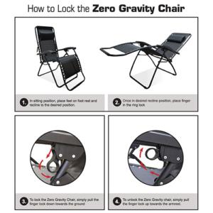 Caravan Sports Infinity Oversized Zero Gravity Chair how to use