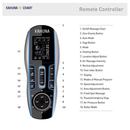 Kahuna LM6800 Remote Control
