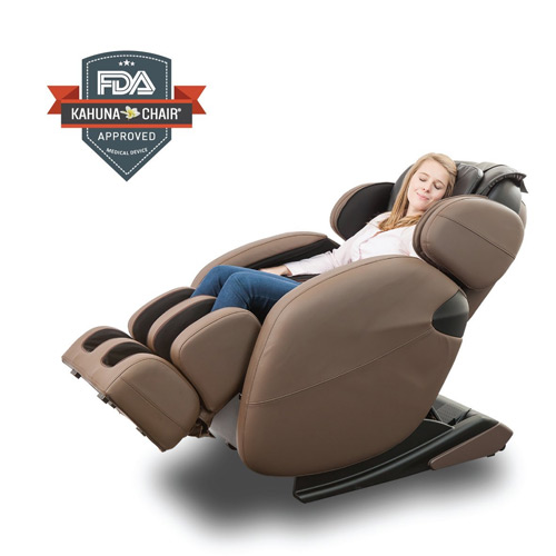 LM 6800 Kahuna Zero Gravity Massage Chair in use