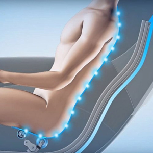 RELAXONCHAIR Zero Gravity Shiatsu Massage Chair s-track system