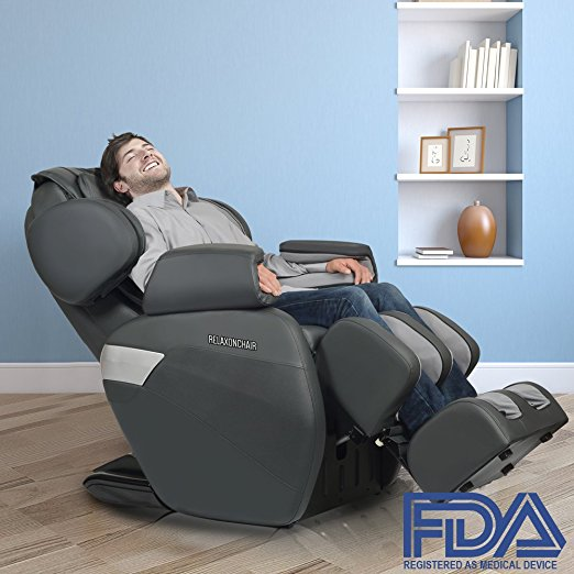 RELAXONCHAIR Zero Gravity Shiatsu Massage Chair (MK-II Plus)