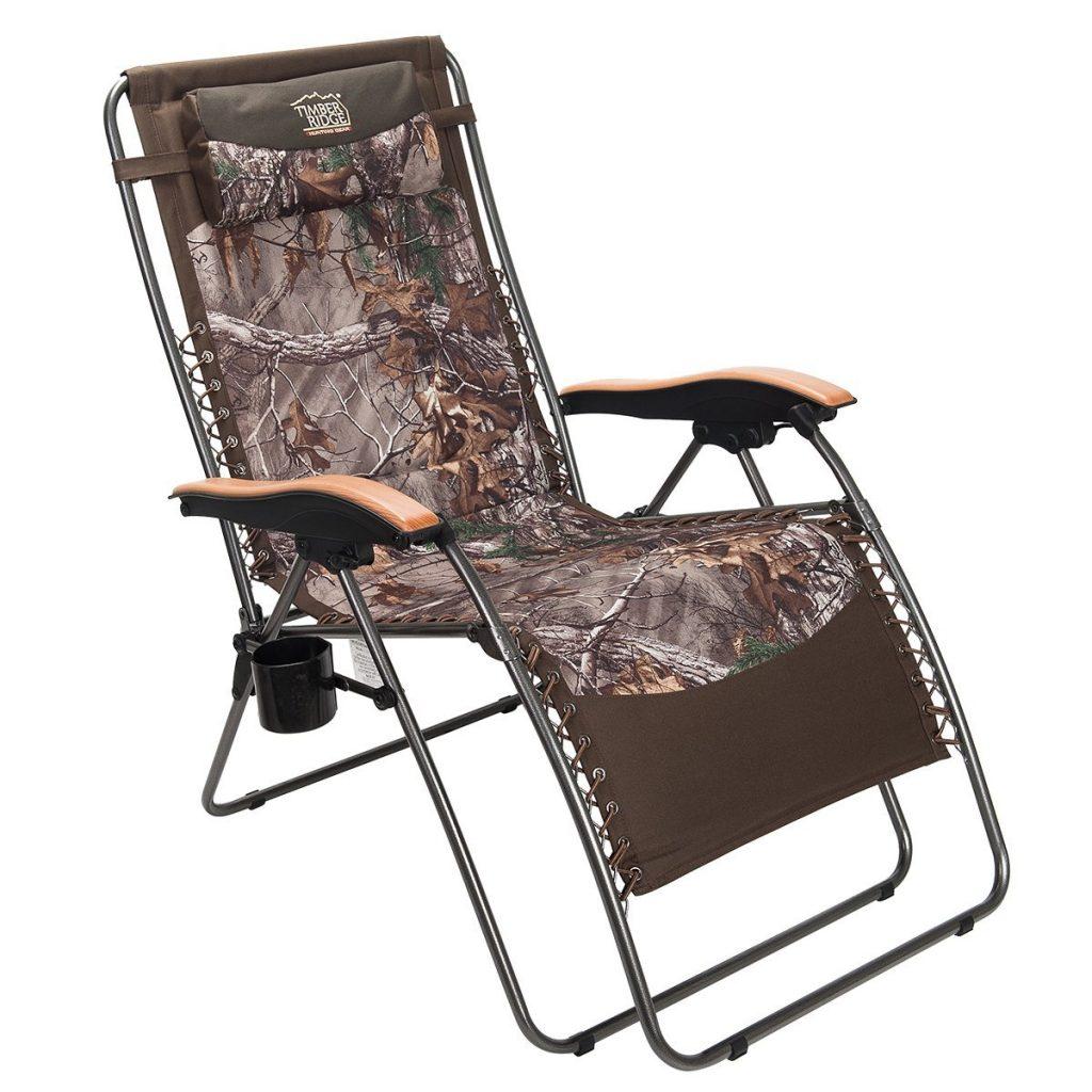 Timber Ridge Zero Gravity Lounger Chair Oversize XL Camoflage